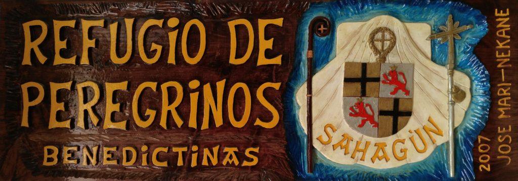 cartel para el peregrino